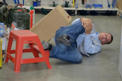 Minderung der Erwerbsfähigkeit bei einem unfallbedingten Kniescheibenbruch