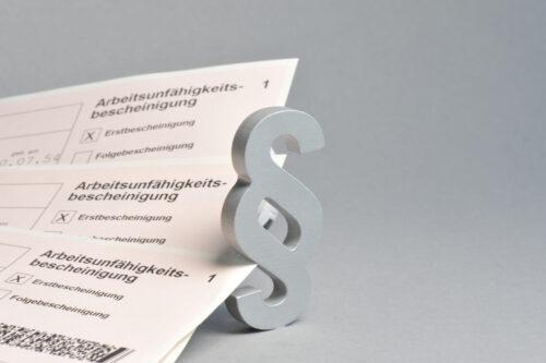 Feststellung der Arbeitsunfähigkeit zur Bewilligung von Krankengeld